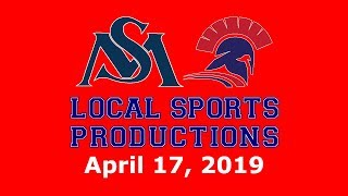 NEPSAC Baseball on LSP - St. Mark's Lions @ Lawrence Academy Spartans, 4.17.2019