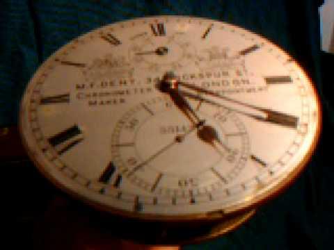 Old marine chronometer clock # 1