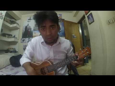 Beche Thakar Gaan Ukelele Tutorial using C,Am,F,G Chord Progression