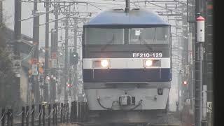 JR山陽本線 貨物列車 EF210ー129