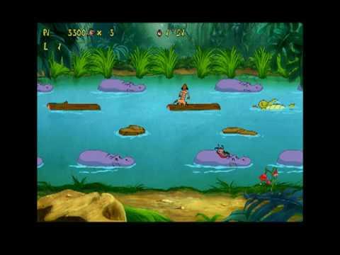 Timon & Pumbaa's Jungle game Hippo Hop