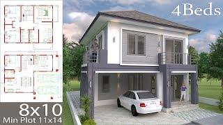 sketchup villa