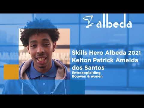 Skills Hero Albeda 2021 Kelton Patrick Ameida dos Santos, entreeopleiding Bouwen & wonen