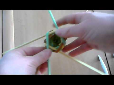 569512a56 pletení z papíru - obtáčené pletení, věnce atd... - YouTube