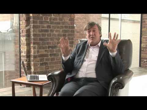 Stephen Fry talks about free software