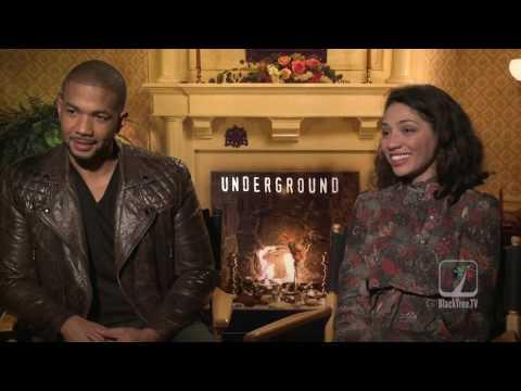 Alano Miller and Jasika Nicole on escaping slavery and UNDERGROUND SEASON 2