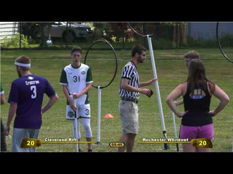 Major League Quidditch • Riff v Whiteout • 2017-07-09 • Game 3