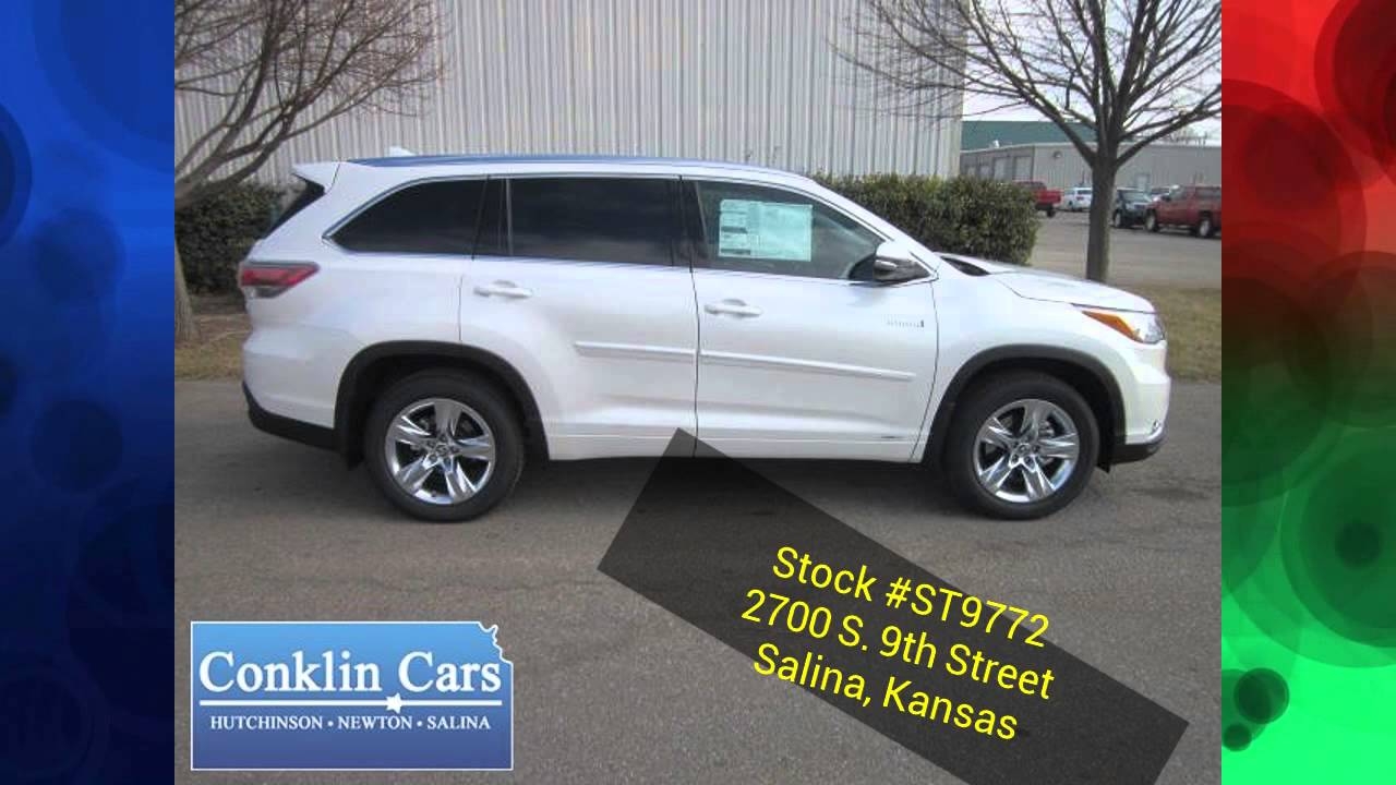 New 2016 Toyota Highlander Salina Ks Manhattan Ks Area Conklin