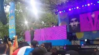 Catch Tomorrow- Afrojack ft Sting GMA Concert