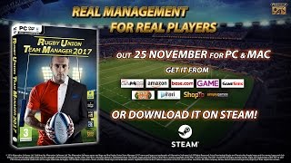 Rugby Union Team Manager 2017  Gameplay
