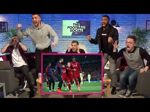 LIVERPOOL 4-0 BARCELONA | FAN REACTION
