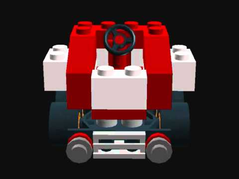 how to build lego mario kart