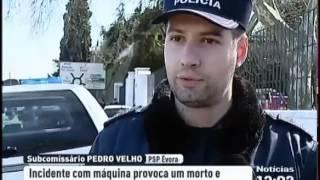 Acidente na Universidade de Évora provoca um morto e dois feridos