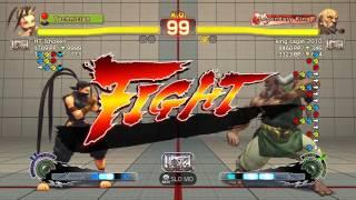 USFIV~ Gouken (king sagat 2010) vs  Ibuki (HT Ishoken) HD