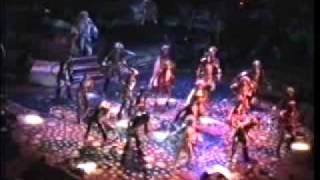 'CATS' Musical, Dress Rehearsal, New London Theatre, West End. 1994