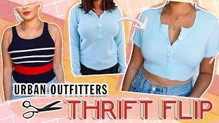 THRIFT FLIP // DIY Urban Outfitter Dupes w/ ALEXASUNSHINE83 ♡
