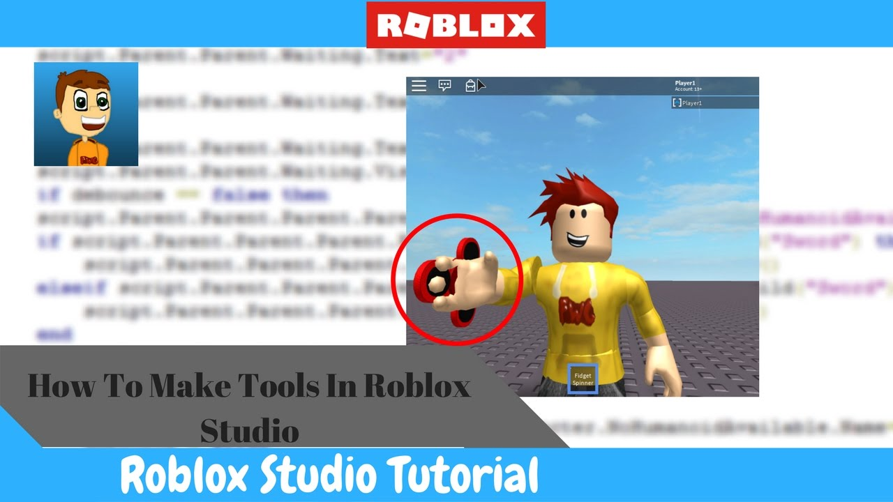How To Create Tools And Gear In Roblox Youtube