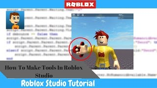 How To Create Tools And Gear In Roblox!