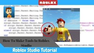 come creare strumenti e attrezzi In Roblox!