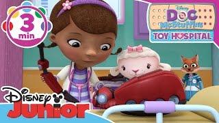 Doc McStuffins: Toy Hospital | Birthday Party Emergency | Disney Junior UK