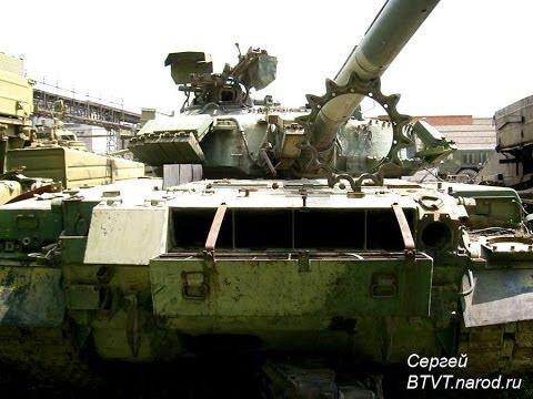 Фото основного боевого танка Т-80БВ (Фото интерьера, детализация)