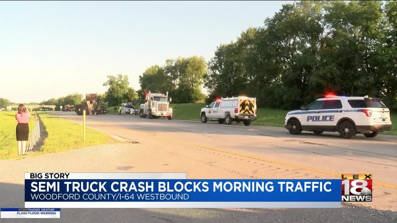 I-64 WB reopens after crash | LEX18 com