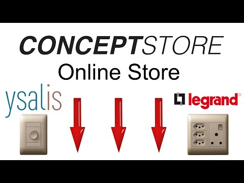 Ysalis Affordable Switches and Sockets from Legrand Johannesburg - The ConceptStore Online Shop
