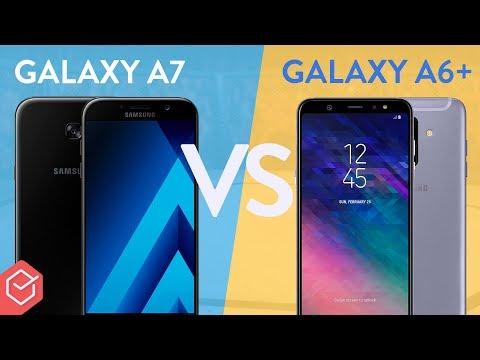 SAMSUNG GALAXY A7 vs A6+ qual melhor? | Comparativo