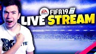 ????Z RONALDO I MESSIM PO TOP 100!!! + Pogadanki o handlu w TOTY | FIFA 19 live - Na żywo