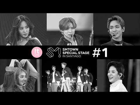 The behind the scenes of SMTOWN SPECIAL STAGE in SANTIAGO Ep1