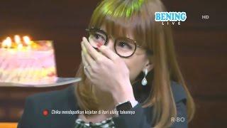 CHIKA Nangis, DEDDY Beri Kejutan Ultah ke-29 - Hitam Putih 25 April 2017