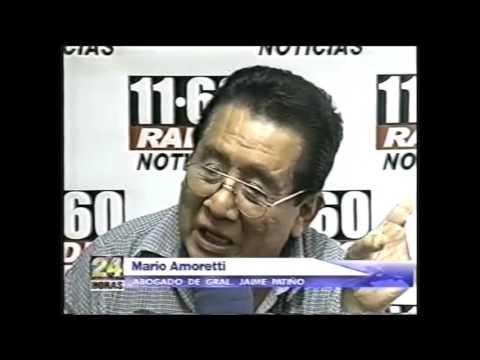 Abogado de Mario Amoretti denuncia la detención del general Jaime Patiño