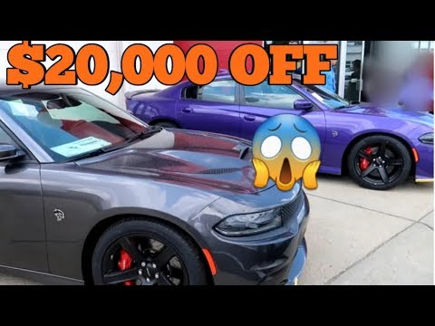 Huge Dealer Discounts On Dodge Charger Hellcats, Scatpacks and Widebody Challengers