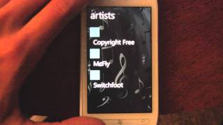 WP7 First Look: Cloud Music