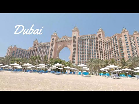 A trip to Dubai, Atlantis the Palm Hotel