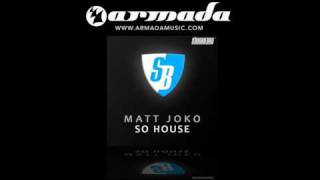 Matt Joko - So House (StoneBridge SG Mixdown) (SBM046)