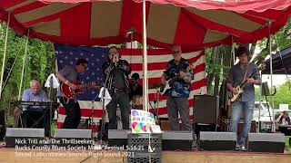 Nick Trill and The Thrillseekers Live at the Bucks County Blues Society Harp Spectacular 5.16.21
