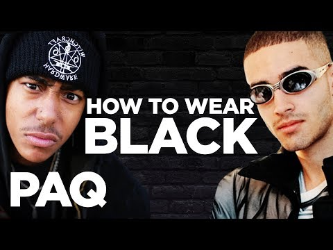 How To Wear Black (Judged By Dex!)