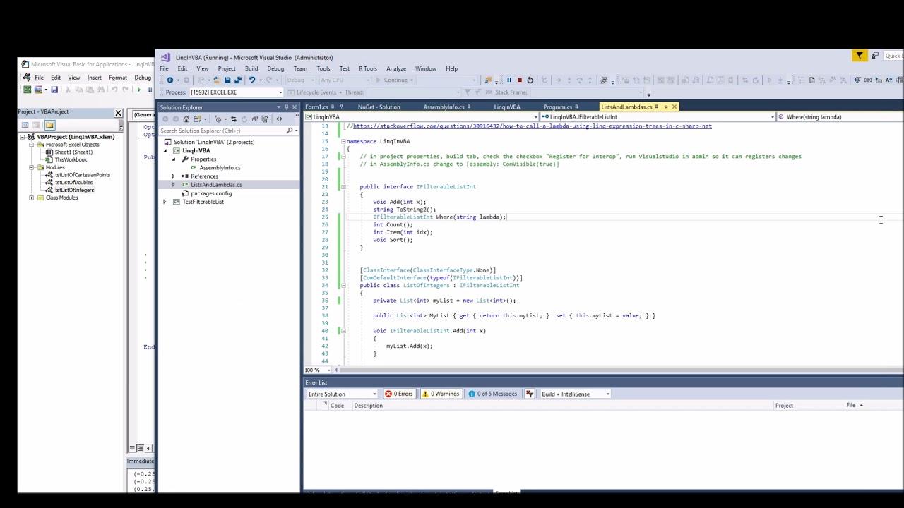 The Excel Development Platform: March 2018