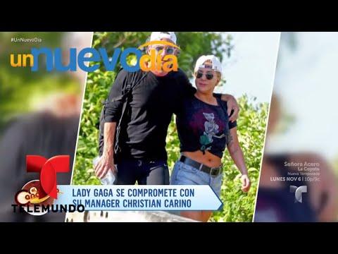 Lady Gaga se comprometió con su manager Christian Carino   Un Nuevo Día   Telemundo
