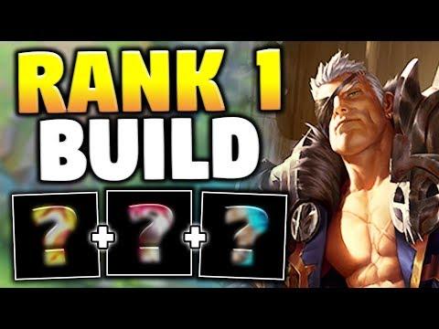 THE RANK 1 GAREN BUILD! THIS IS THE BEST GAREN BUILD YET! - League of Legends