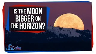 The Weird Optical Illusion that Changes the Moon's Size