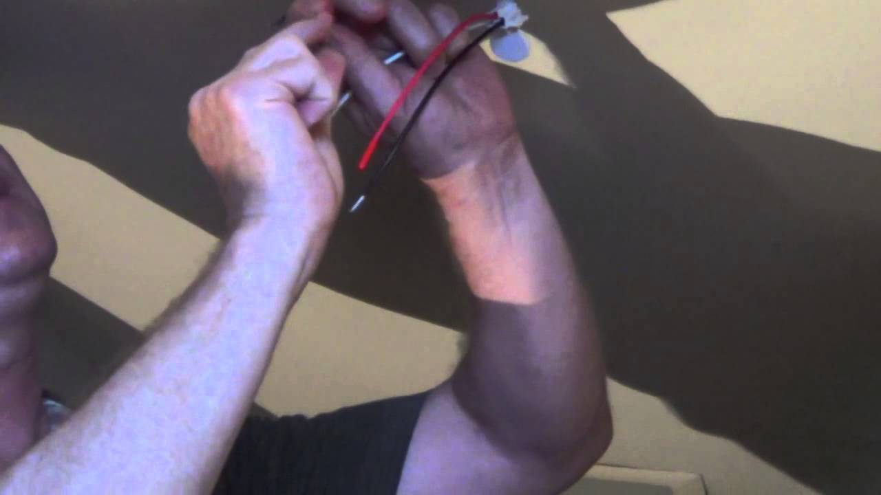 How To Replace A Hard Wired Smoke Detector Electrical Series Fire Alarm Wiring Including 4 Wire Youtube