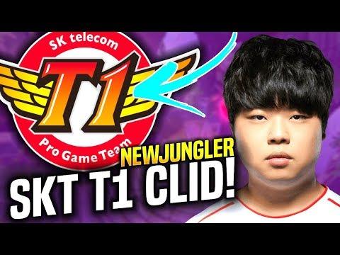 SKT T1 CLID CONFIRMED! 🔥NEW SKT T1 JUNGLER!🔥 - When Clid Picks Lee Sin Jungle!