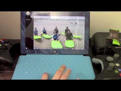 How to close Apps on the Windows 8 Surface RT HANDS ON