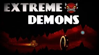 Me trying to beat Insane/Extreme Demons ~ Geometry Dash
