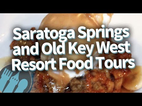Disney World Food Tour: EVERYTHING To Eat At Saratoga Spring