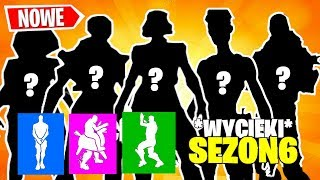 * NEUE SKINS und EMOTES in SEASON 6 LEAKS | FORTNITE