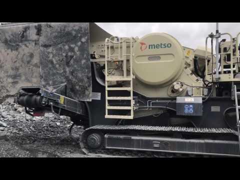 Metso LT106 Jaw Crusher - YouTube
