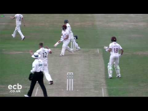 Northamptonshire v Leicestershire: Specsavers County Championship Day 1 Highlights